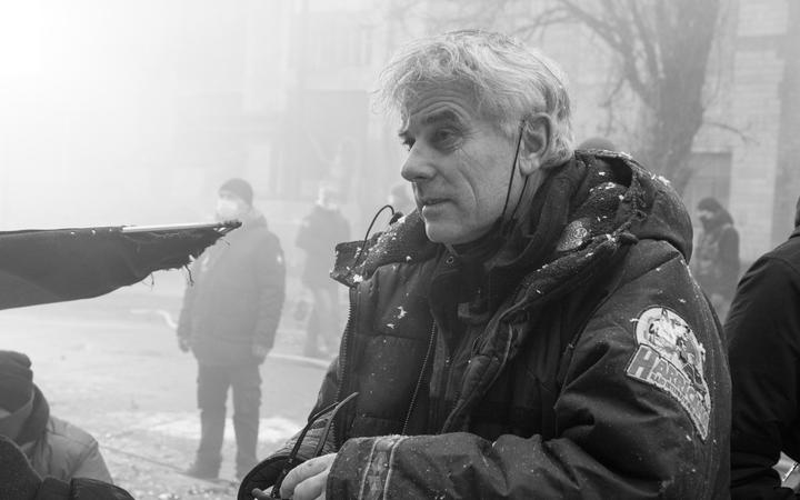 Vincent Ward: Filming in Ukraine